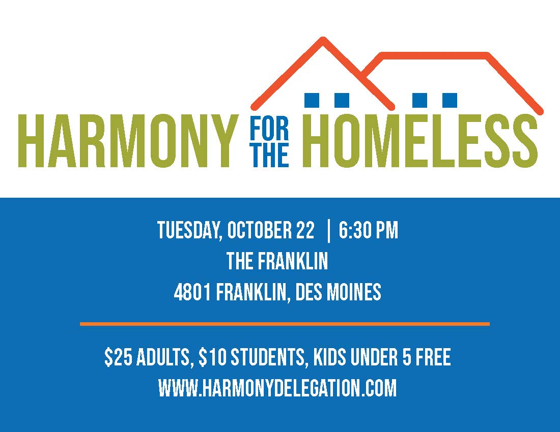Harmony for the Homeless Benefit Concert