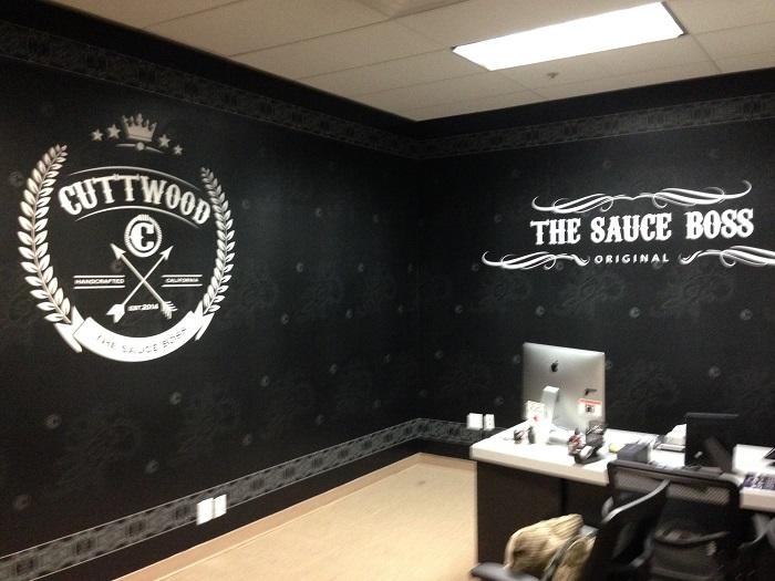 Office Wall Wrap