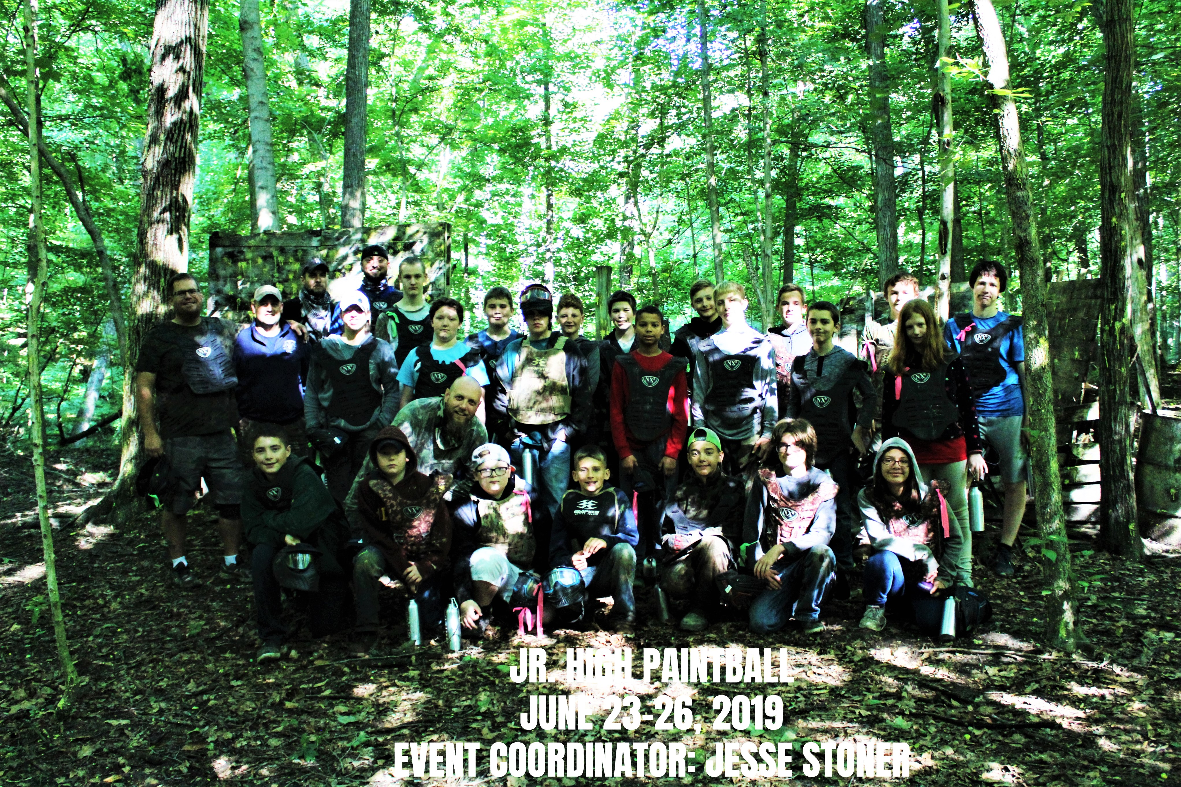 Jr. High Paintball