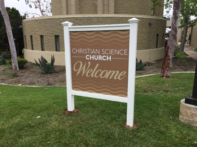 Custom Designed Church Signs in Newport Beach CA