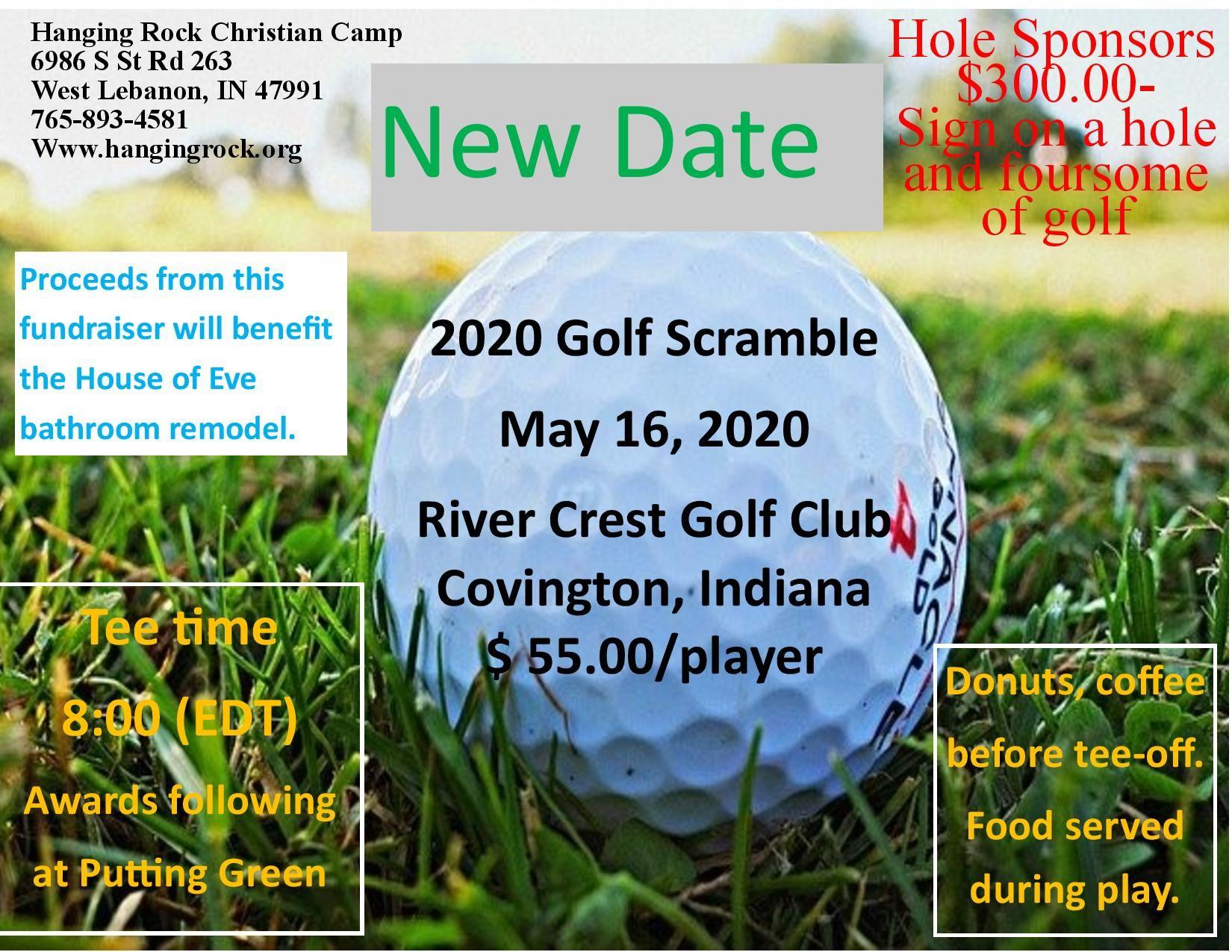 Golf Scramble Registration