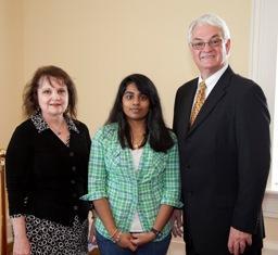 Rep. Greg Burdine, Anita Miller Garner, & Teena Patel.