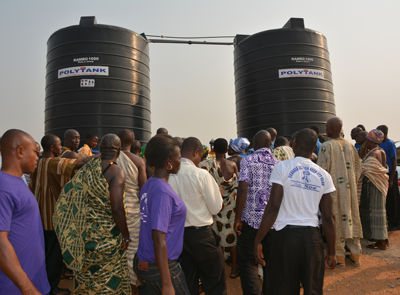 Extend the Safe Water System to a Sub-Community