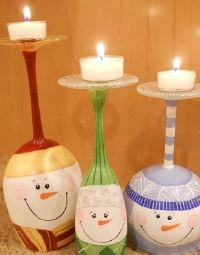 Trash to Treasure DIY Class - Candleholders