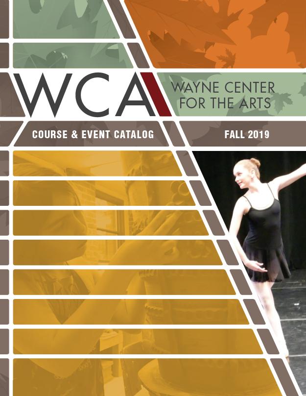 WCA 2019 Fall Course & Event Catalog