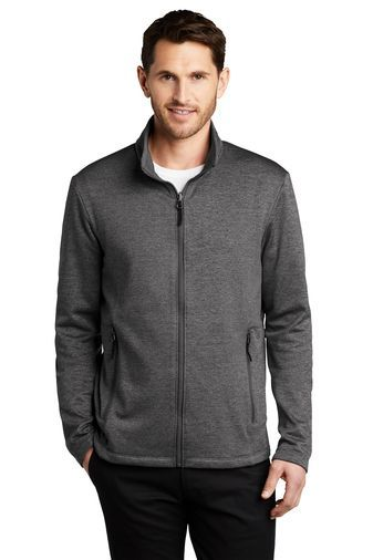 Striated Fleece Jacket