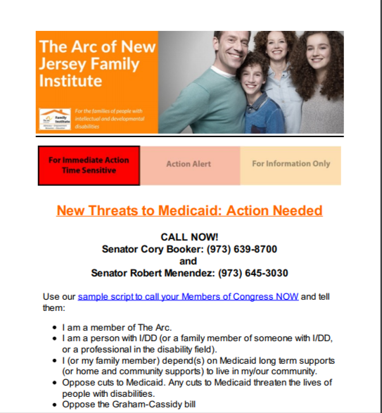 New Threats to Medicaid: Action Needed 9.18.2017