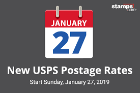 Postage rates are increasing.