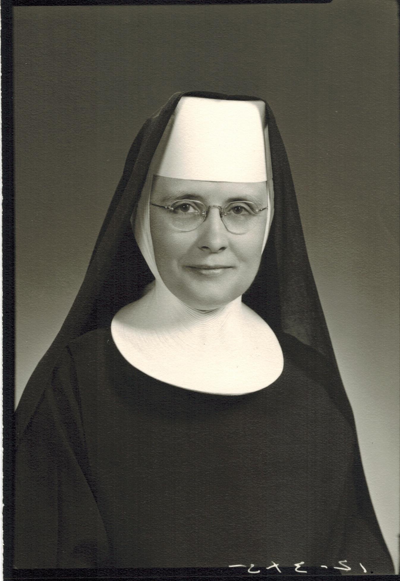 In Loving Memory of Sister Edane Volk, OSB - December 21, 2009