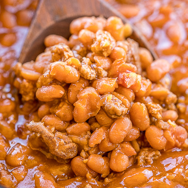 Lena's Slow Cooker Baked Beans