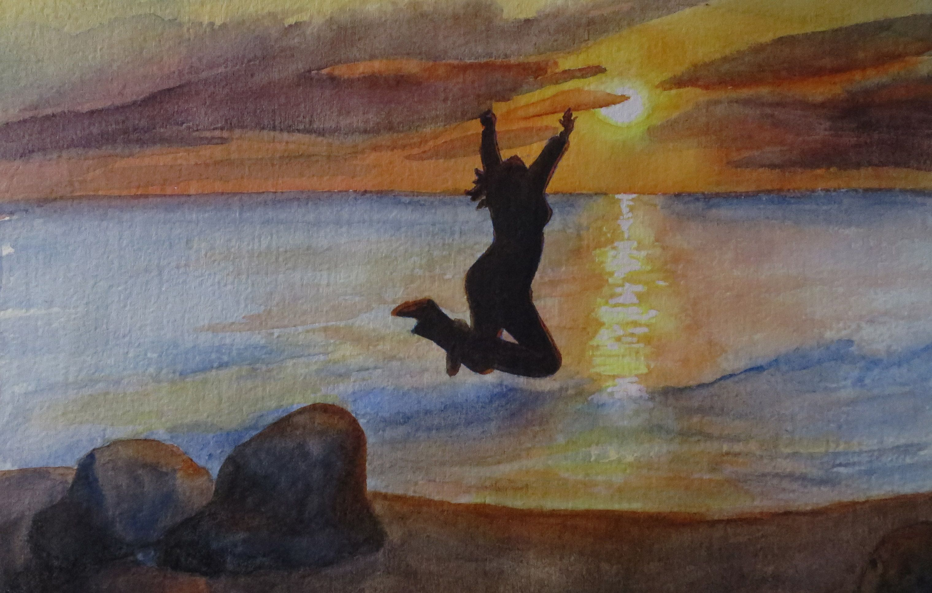 Artist: Marla Milne, Watercolor