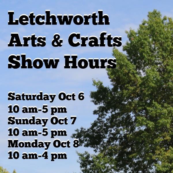 letchworth arts and crafts show arts festival