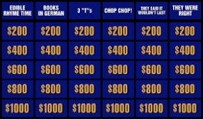 Workplace Jeopardy