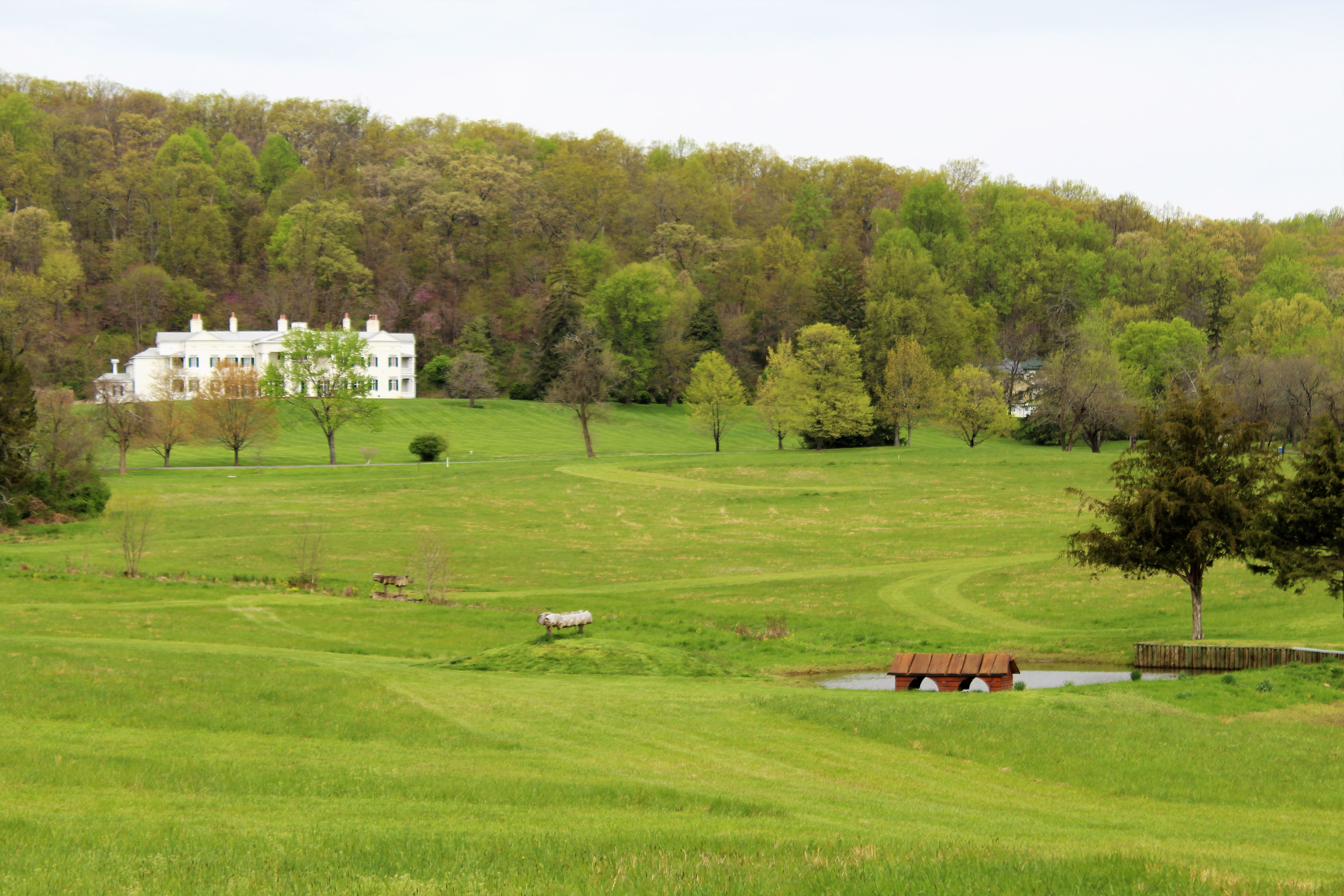 Vroom vroom! Help our Buildings & Grounds team keep their mowers and other equipment well maintained and in working order by making a $100 donation to Morven Park.