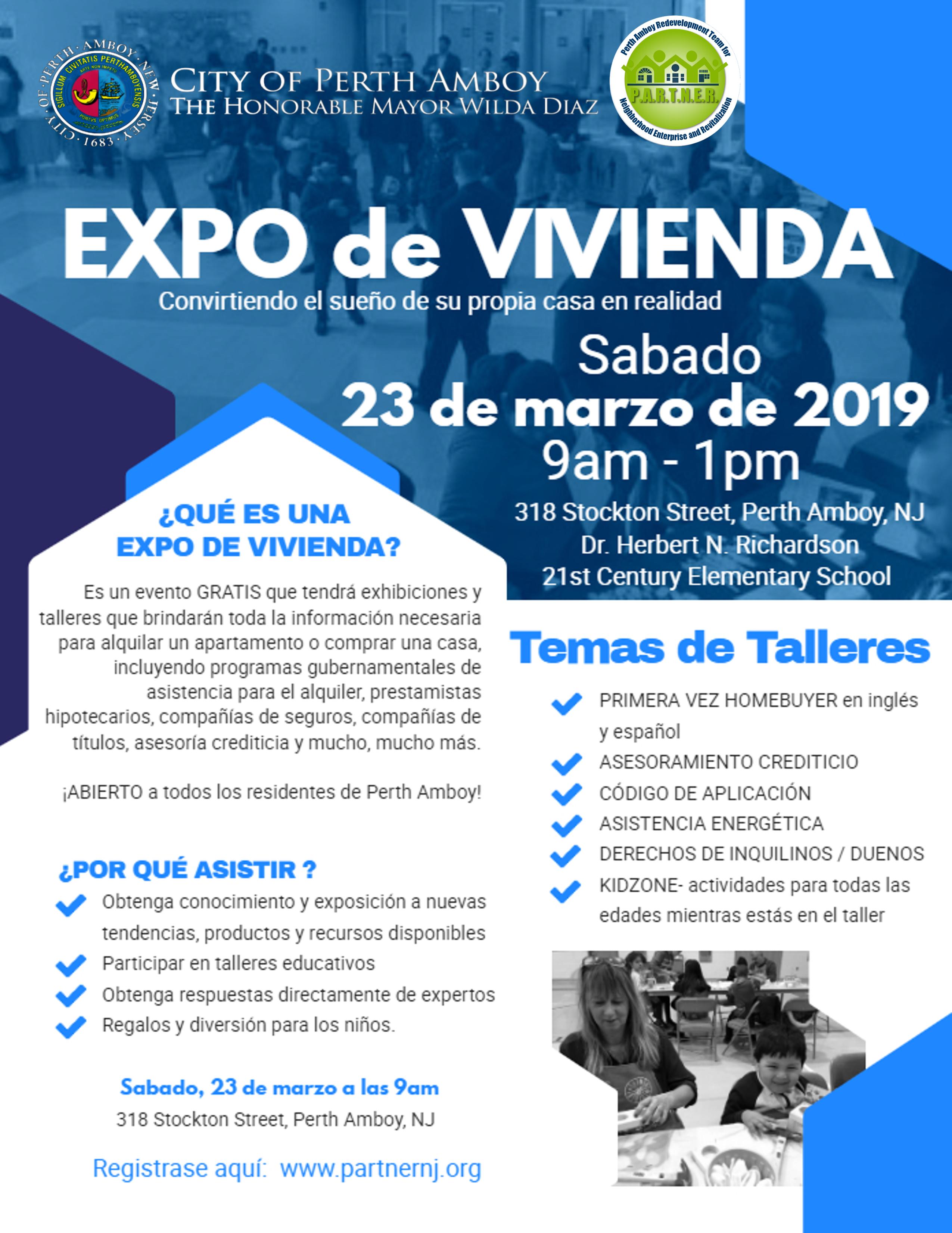 Housing Expo/Exposición de Vivienda