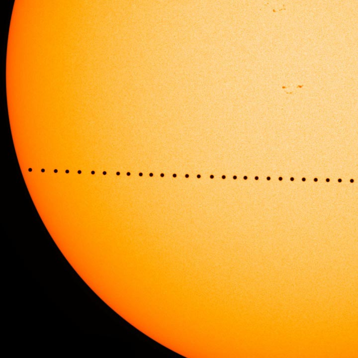 Mercury Will Transit the Sun on November 11