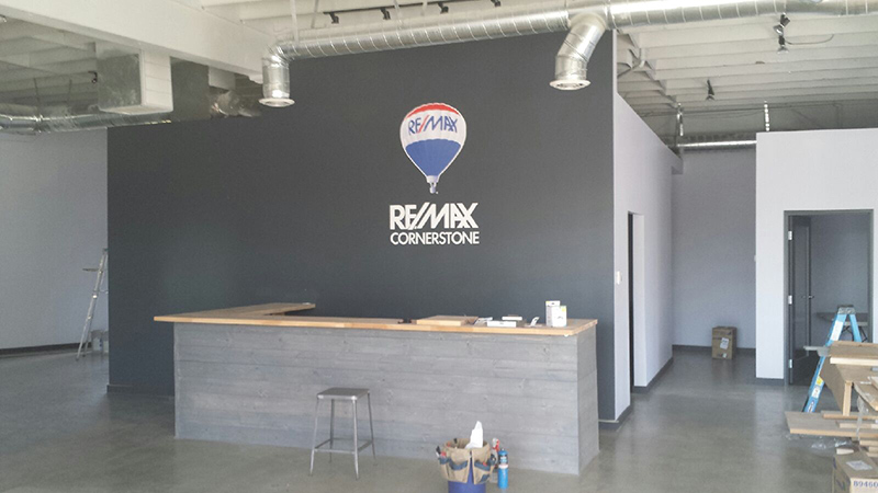 Wall_graphics on Industrial Warehouse Exterior