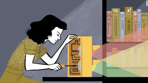 Google Doodle Honors Hedy Lamarr
