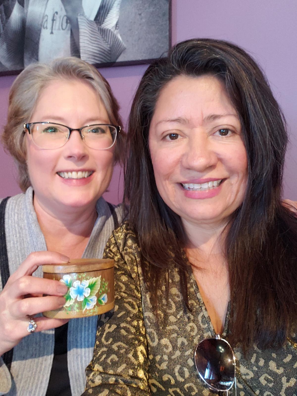Maria and Lisa