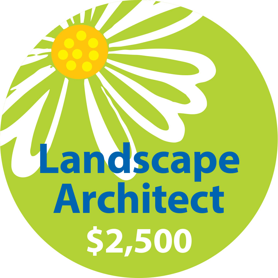 2. Landscape Architect - $2500