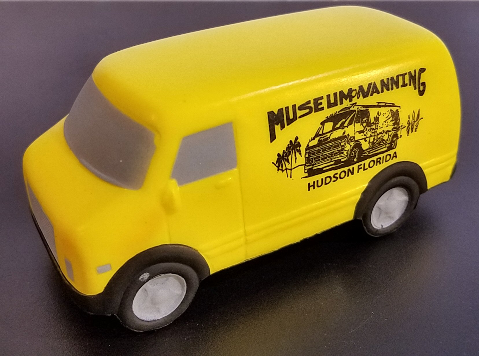Museum Stress Relief Van (Yellow)