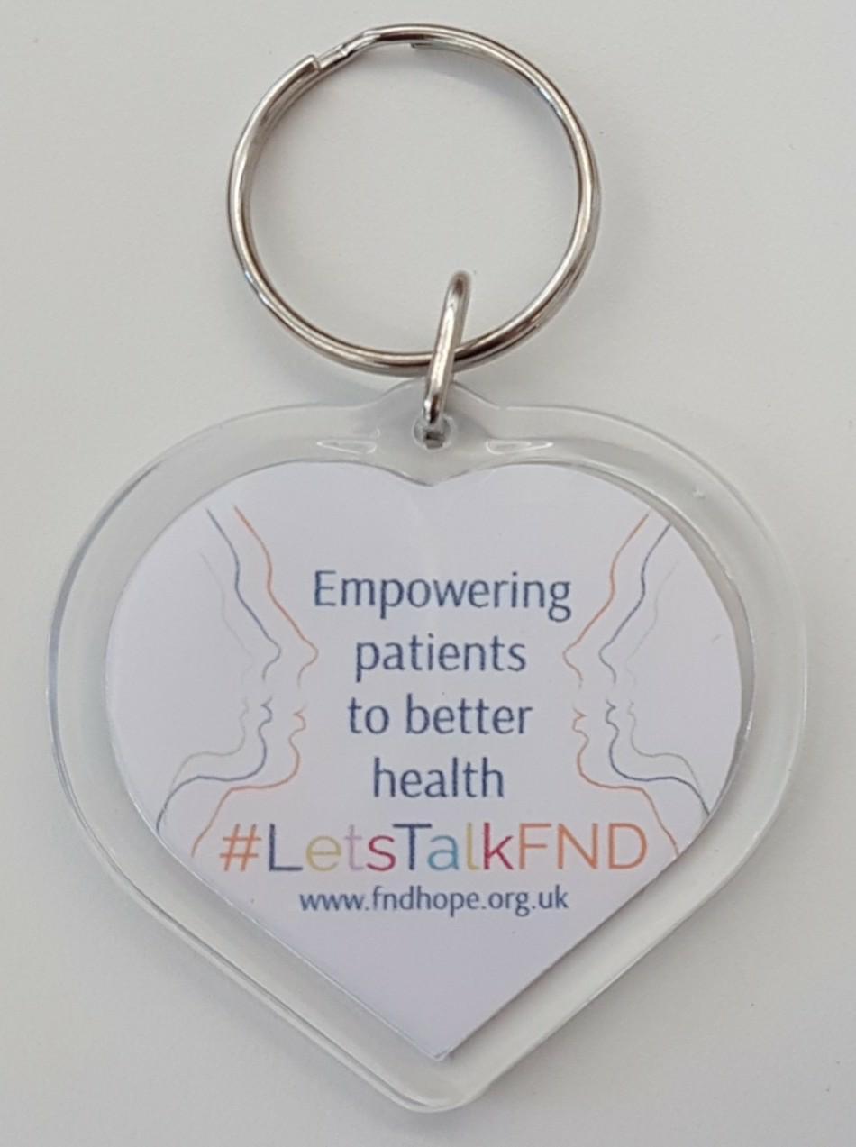 FND Hope Keyring #LetsTalkFND