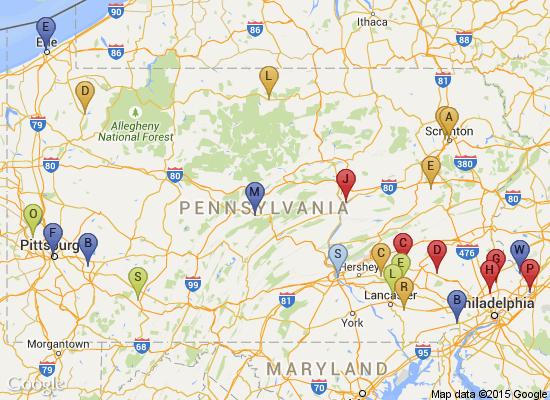 Pennsylvania Heritage Foundation : Membership : Trails of