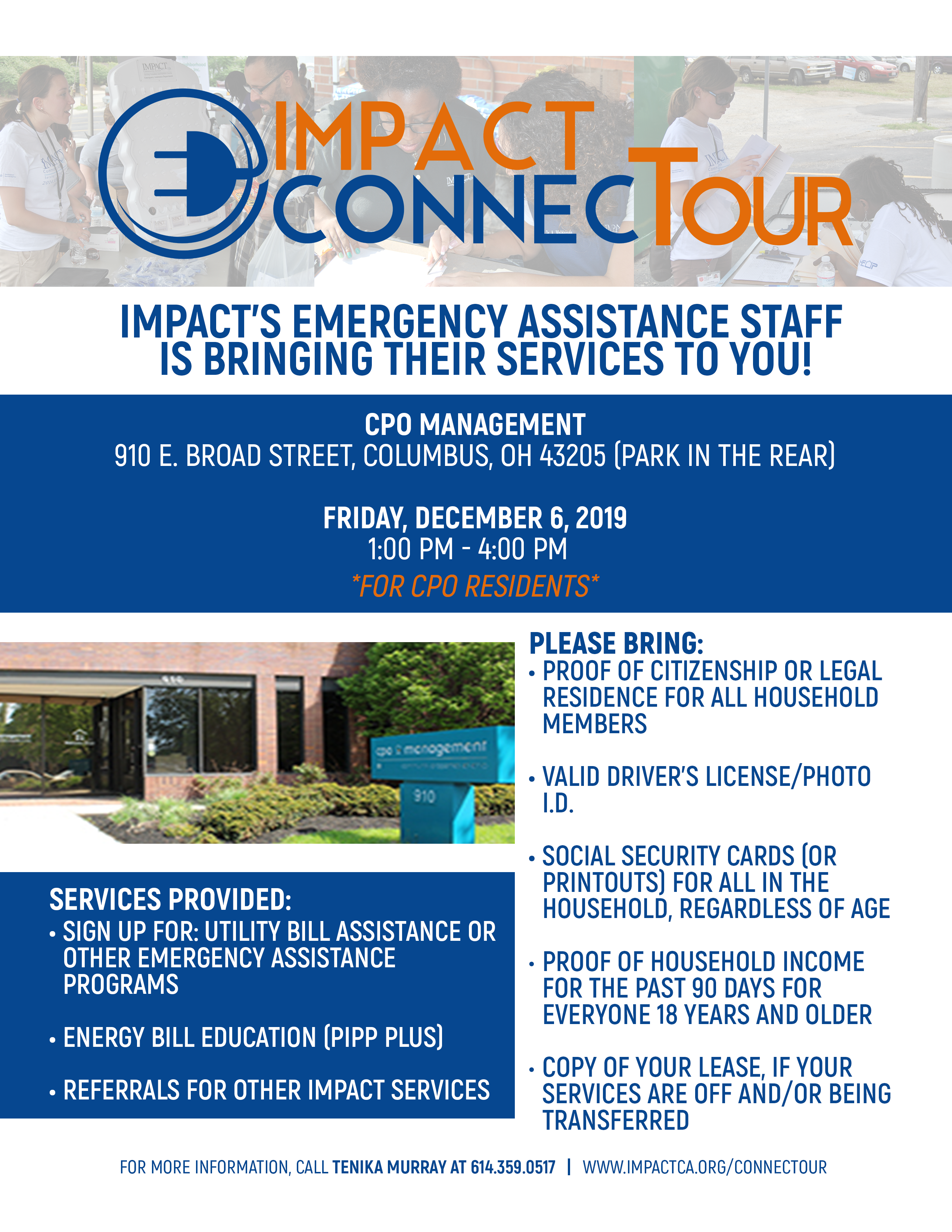 IMPACT ConnecTour (For CPO Residents Only)