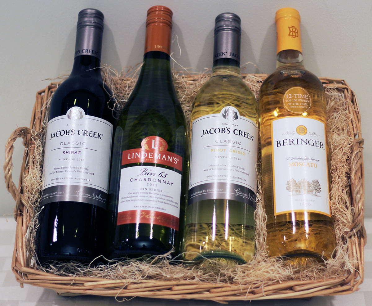 Wine Gift Basket - Donated by MCCF