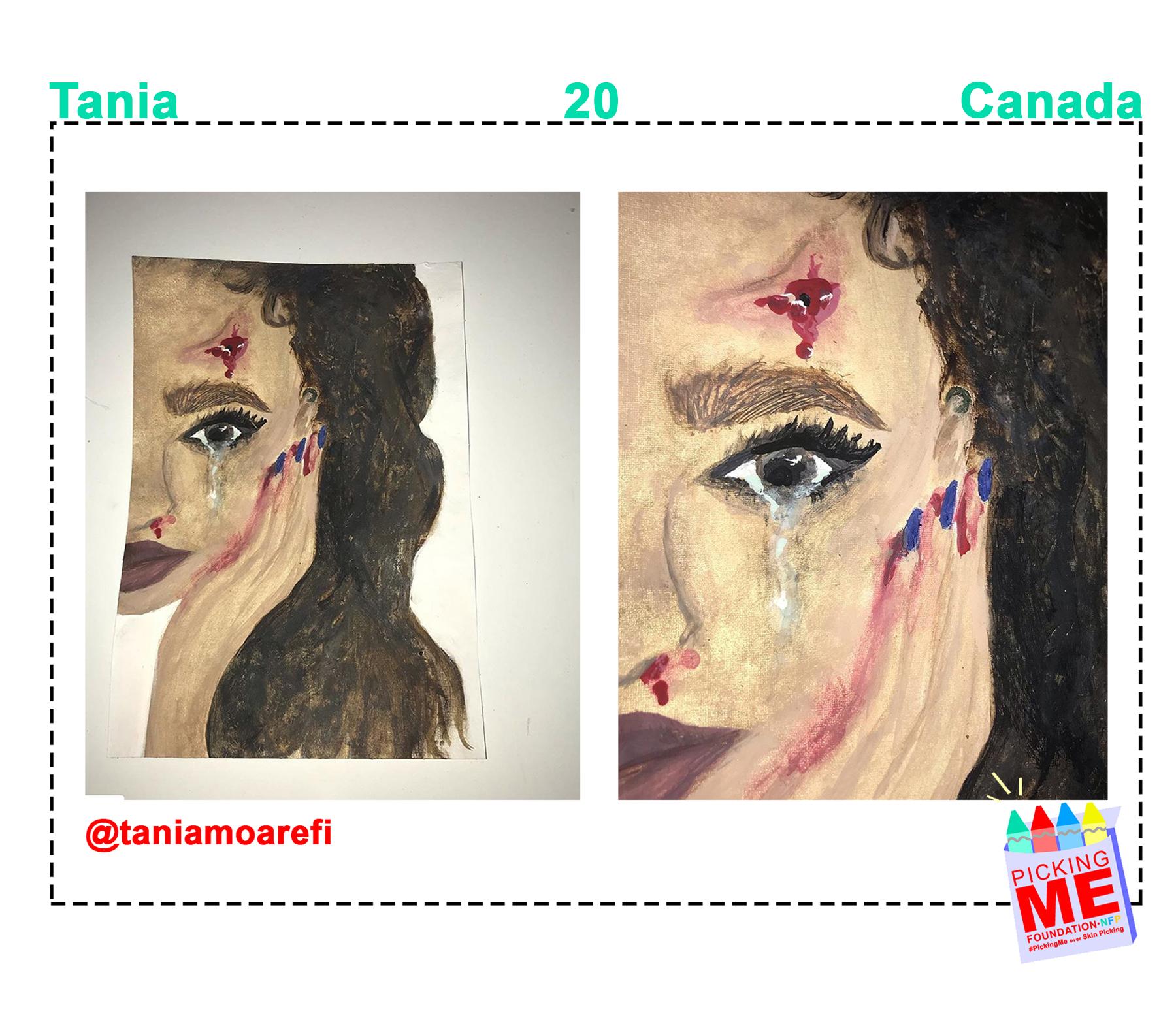 #DrawingWithDerma: Tania
