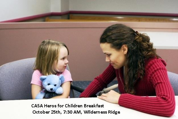 CASA's Heros for Children Breakfast