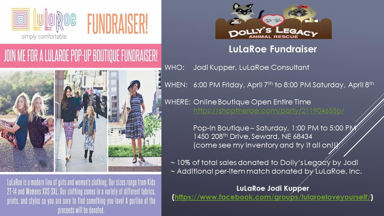 LuLaRoe Jodi Kupper Fundraising Event!