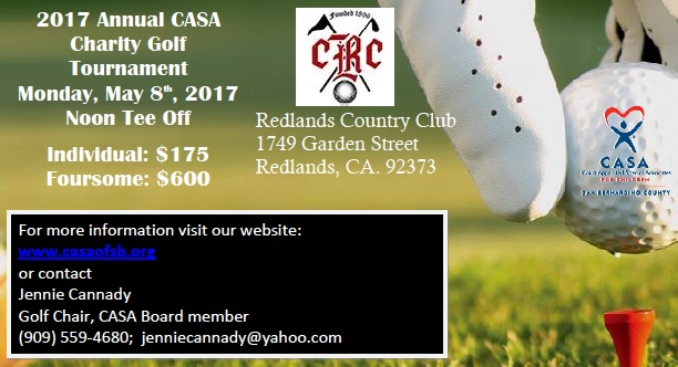 1st Annual Charity Golf Tournament