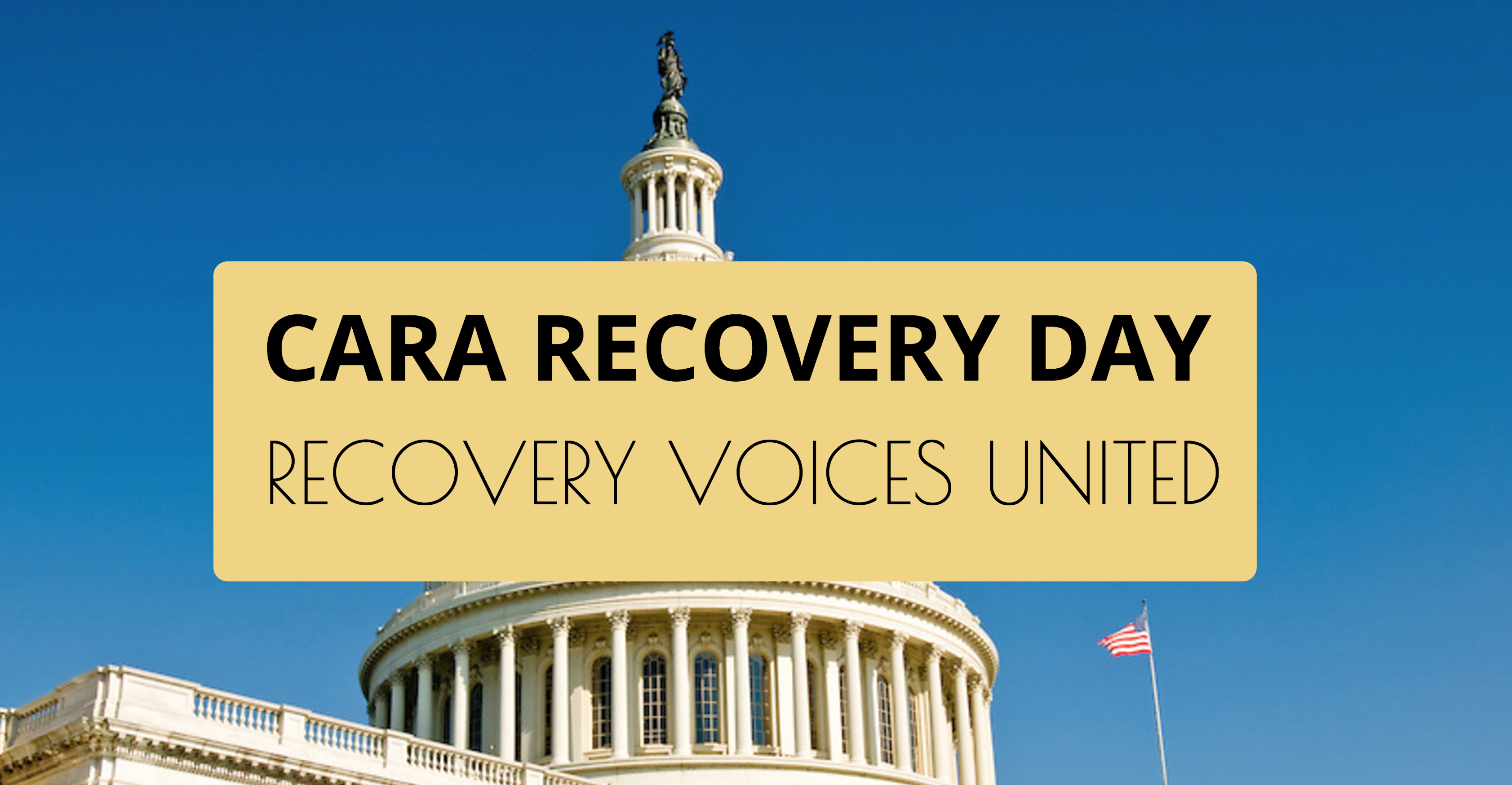 Join us for CARA Recovery Day