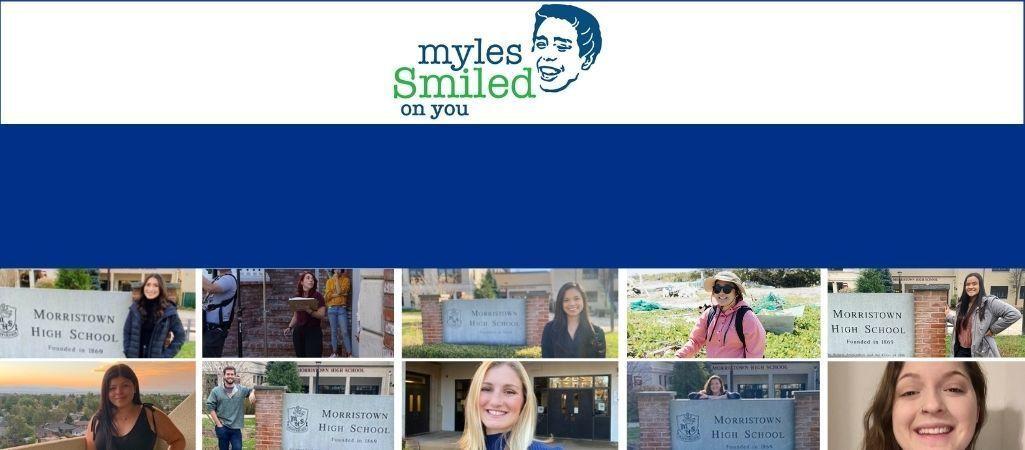 Myles Smiled on You Award