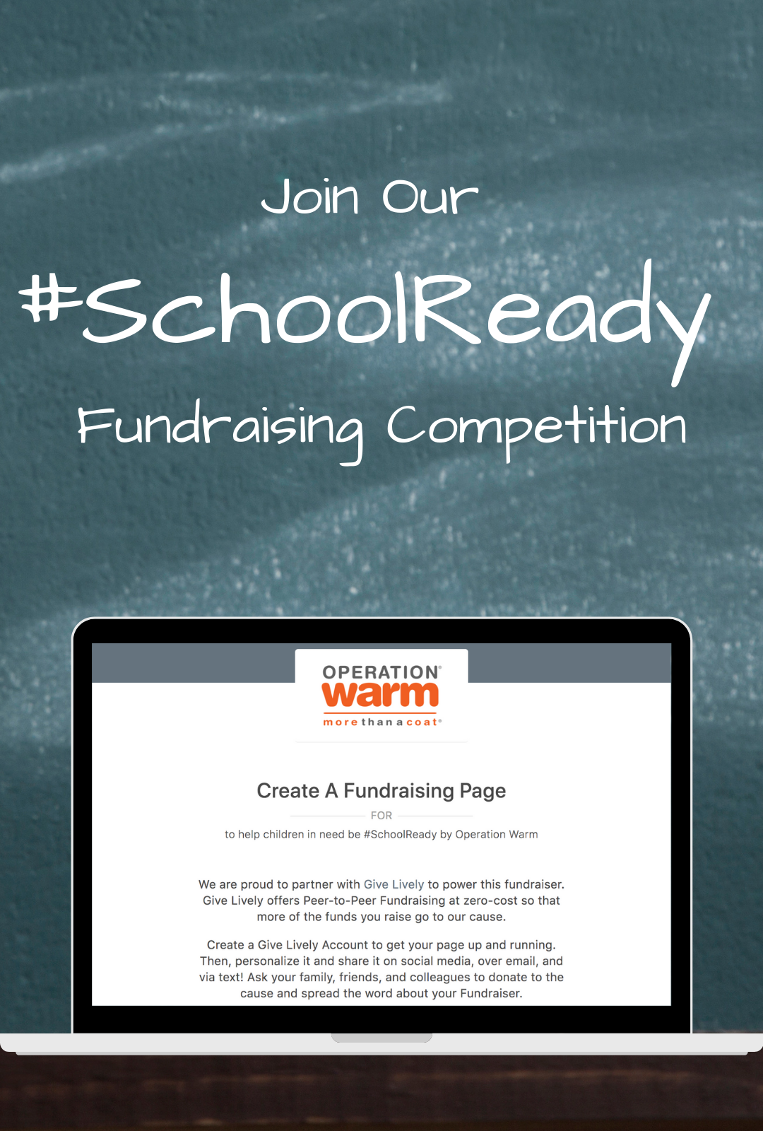 Join Our #SchoolReady Fundraising Competition