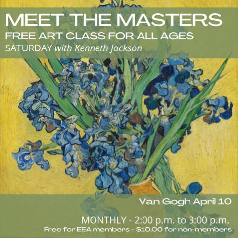 Meet the Masters FREE Art Class - Vincent Van Gogh