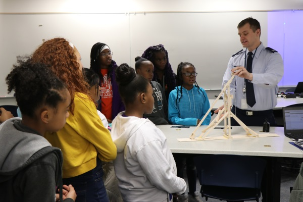 Laredo STEM Club Explores Real-World Science at AF Academy