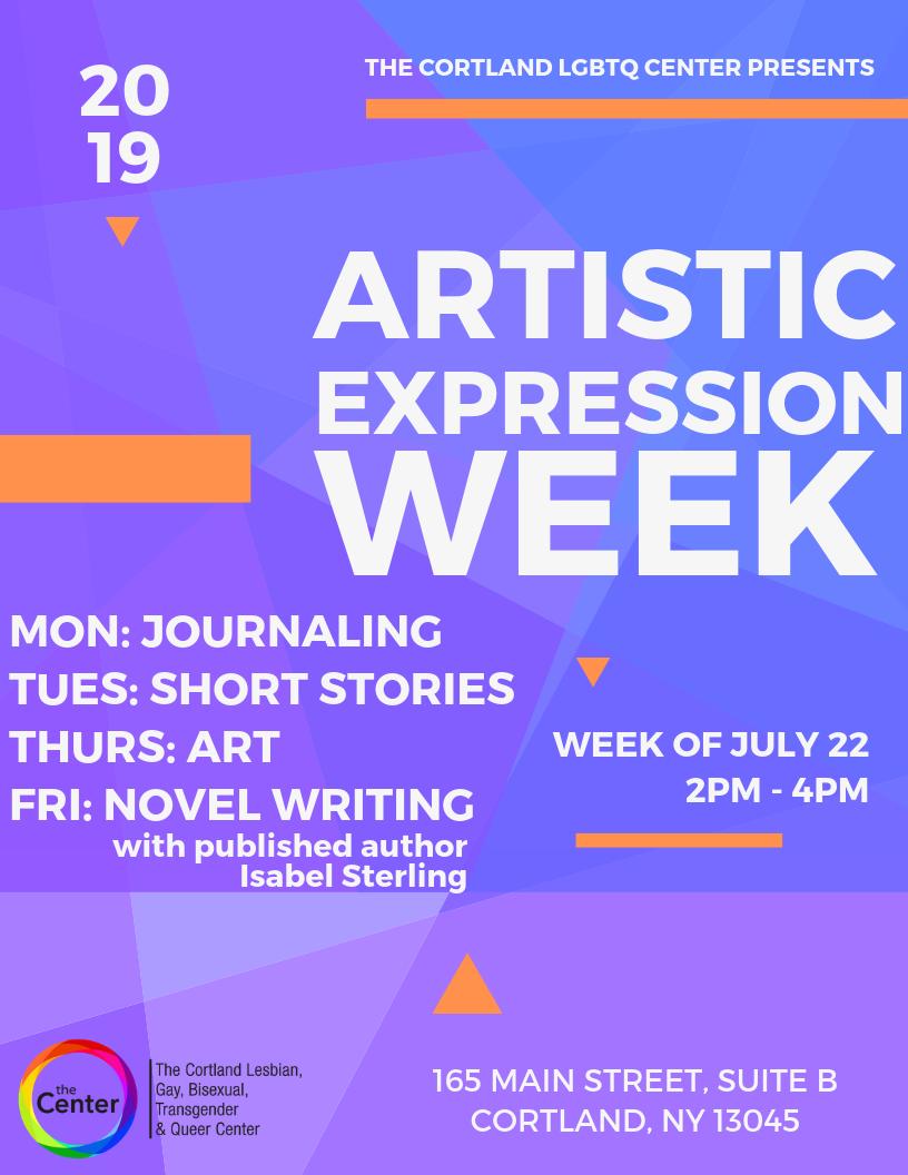 Artistic Expression Week