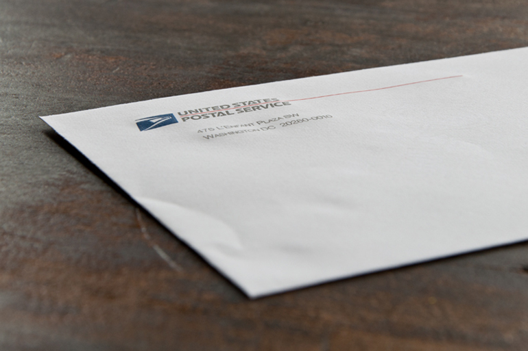 United States Postal Service Envelope