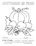 Color-In Pages (Seasonal)