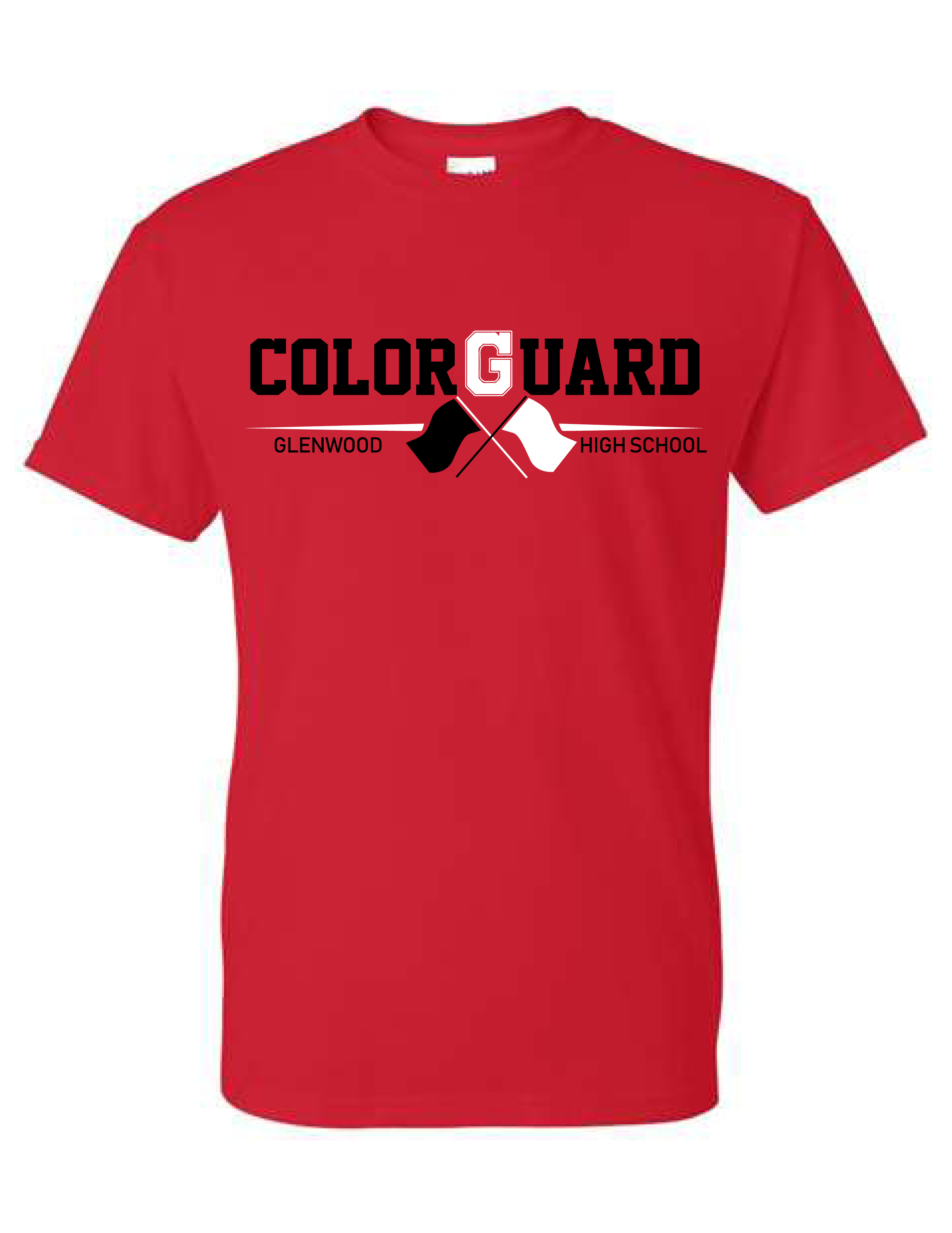 Glenwood Color Guard - LADIES Short Sleeve