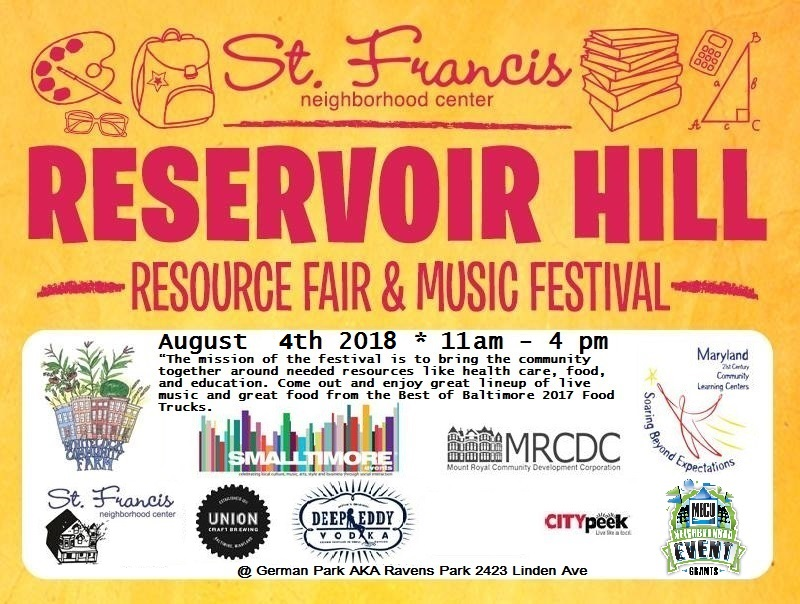 Reservoir Hill Resource & Music Festival 2018