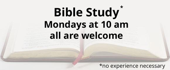 *Monday Bible Study