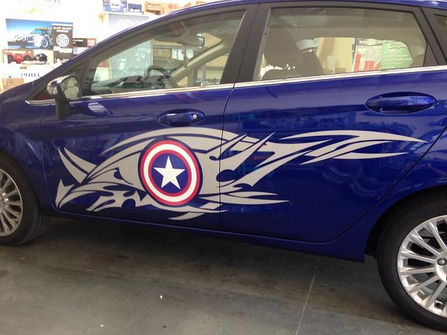 Avengers Car Graphics Orange County