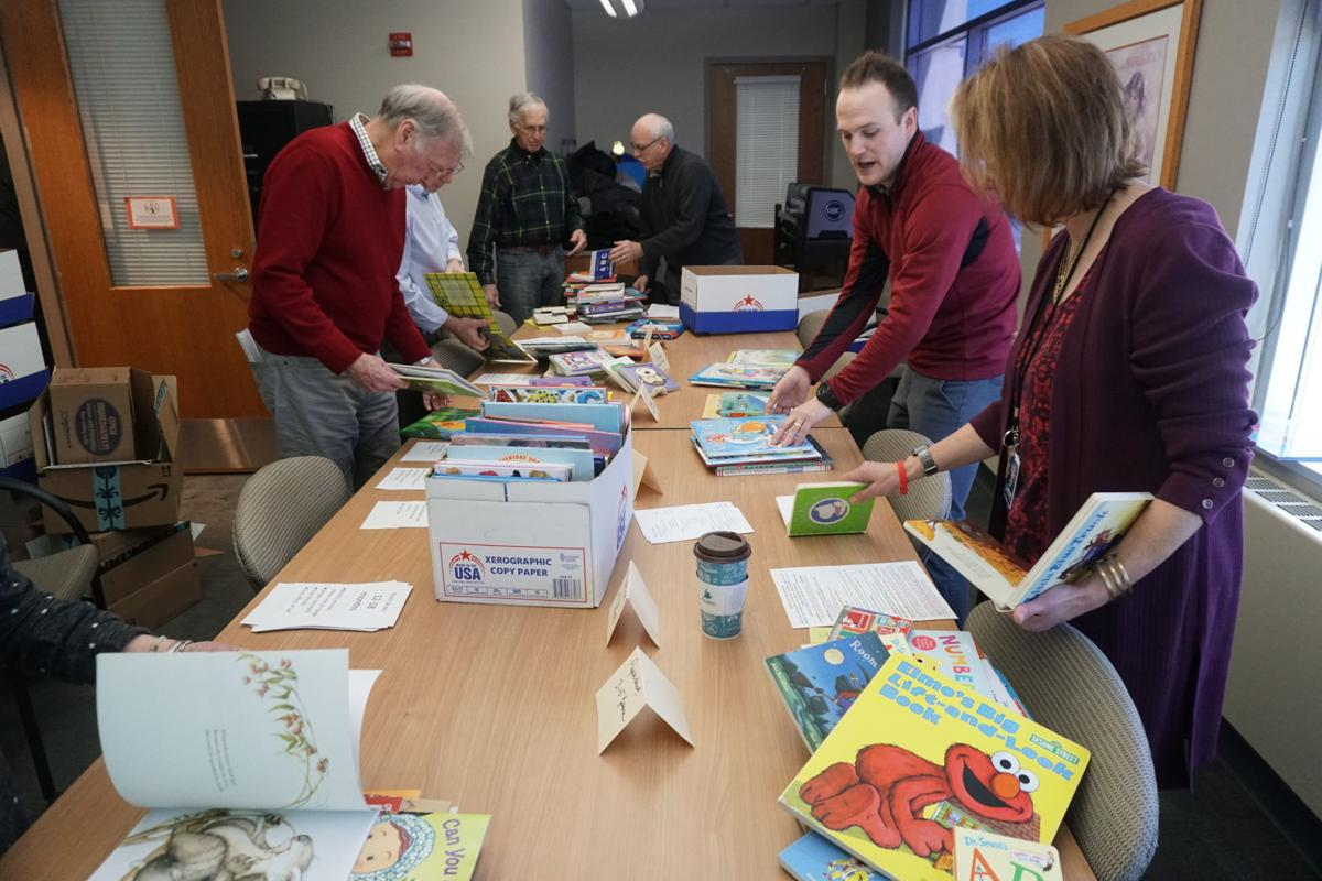 Rotarians give back to Reach Out and Read Minnesota