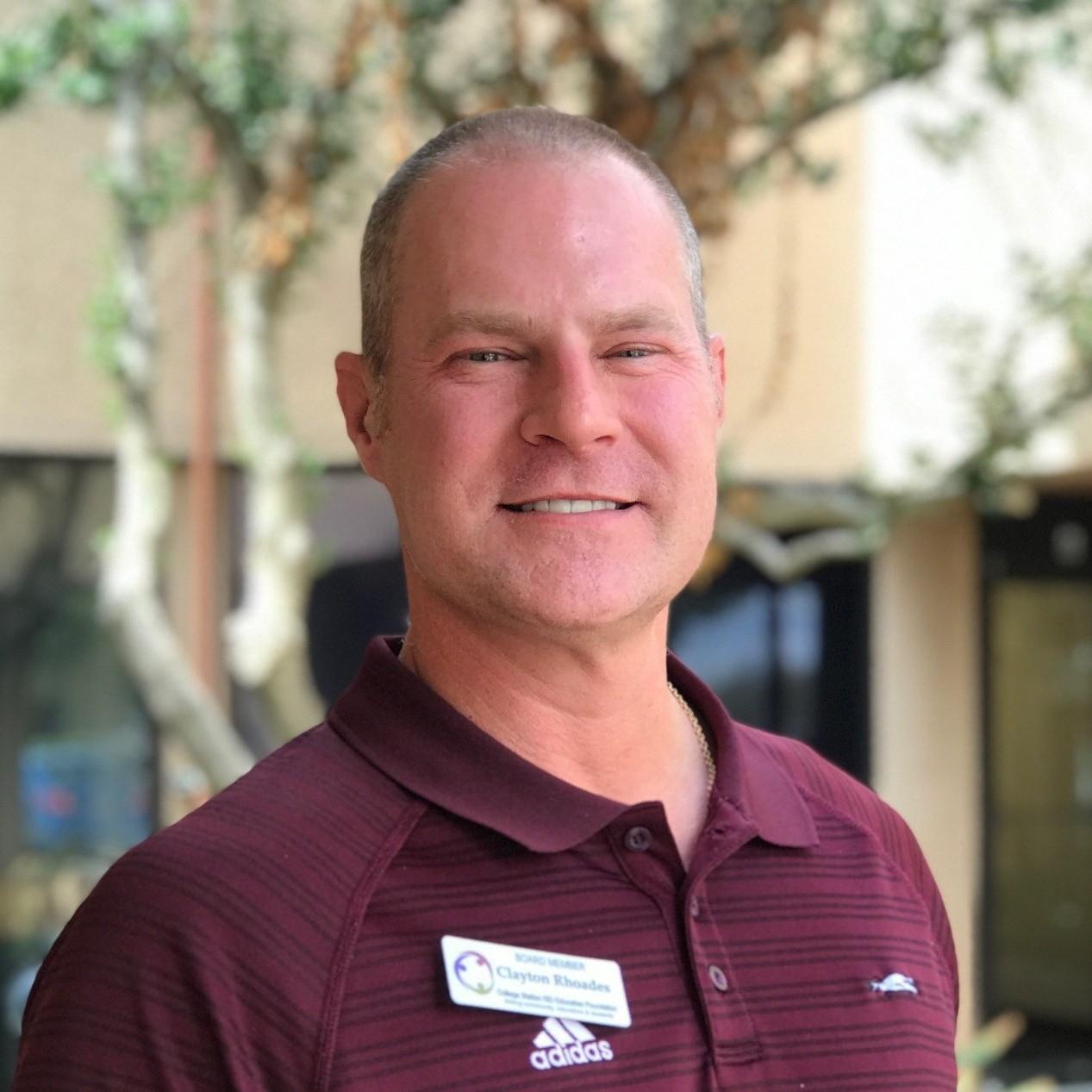 Employee Giving Chair: Clayton Rhoades