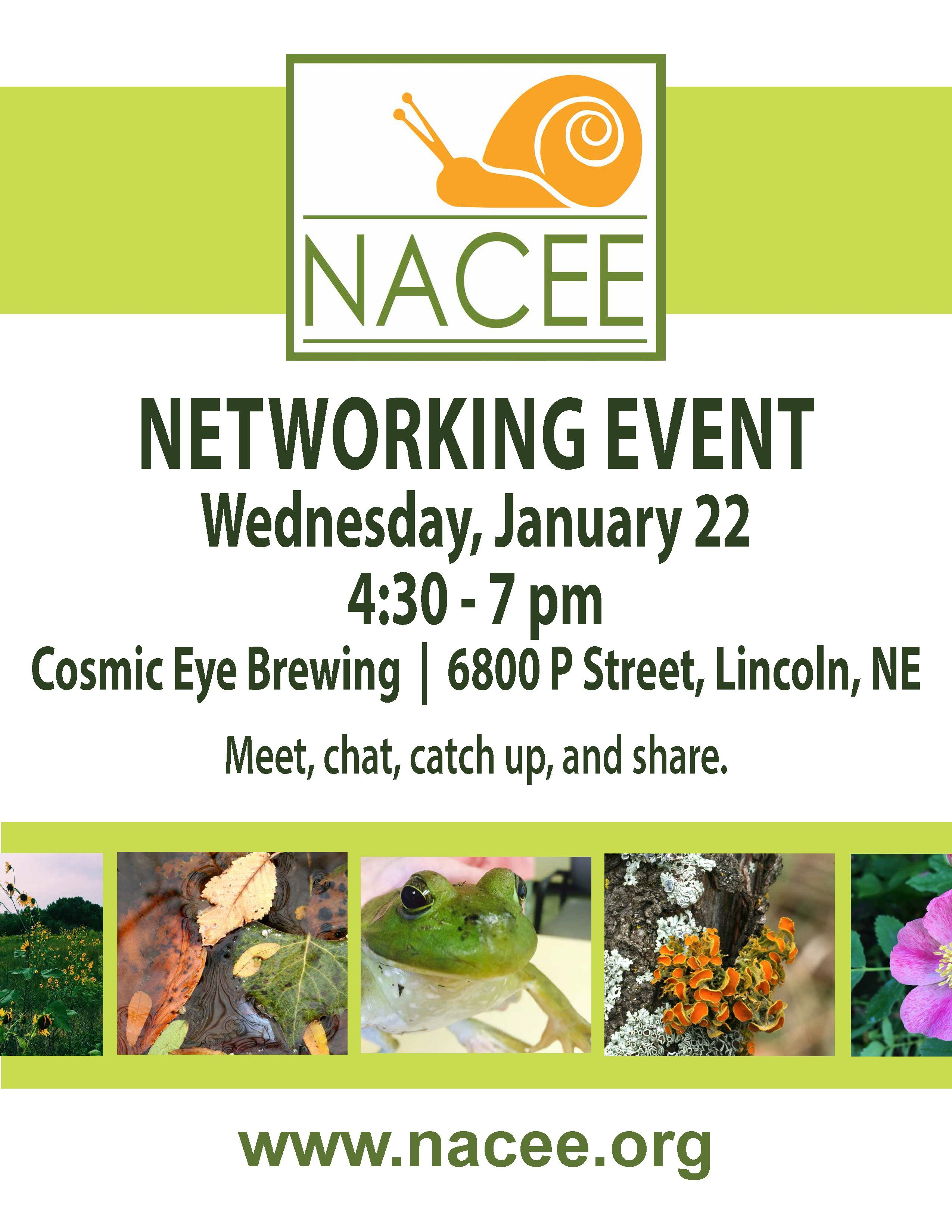 CE: NACEE Lincoln Networking Gathering