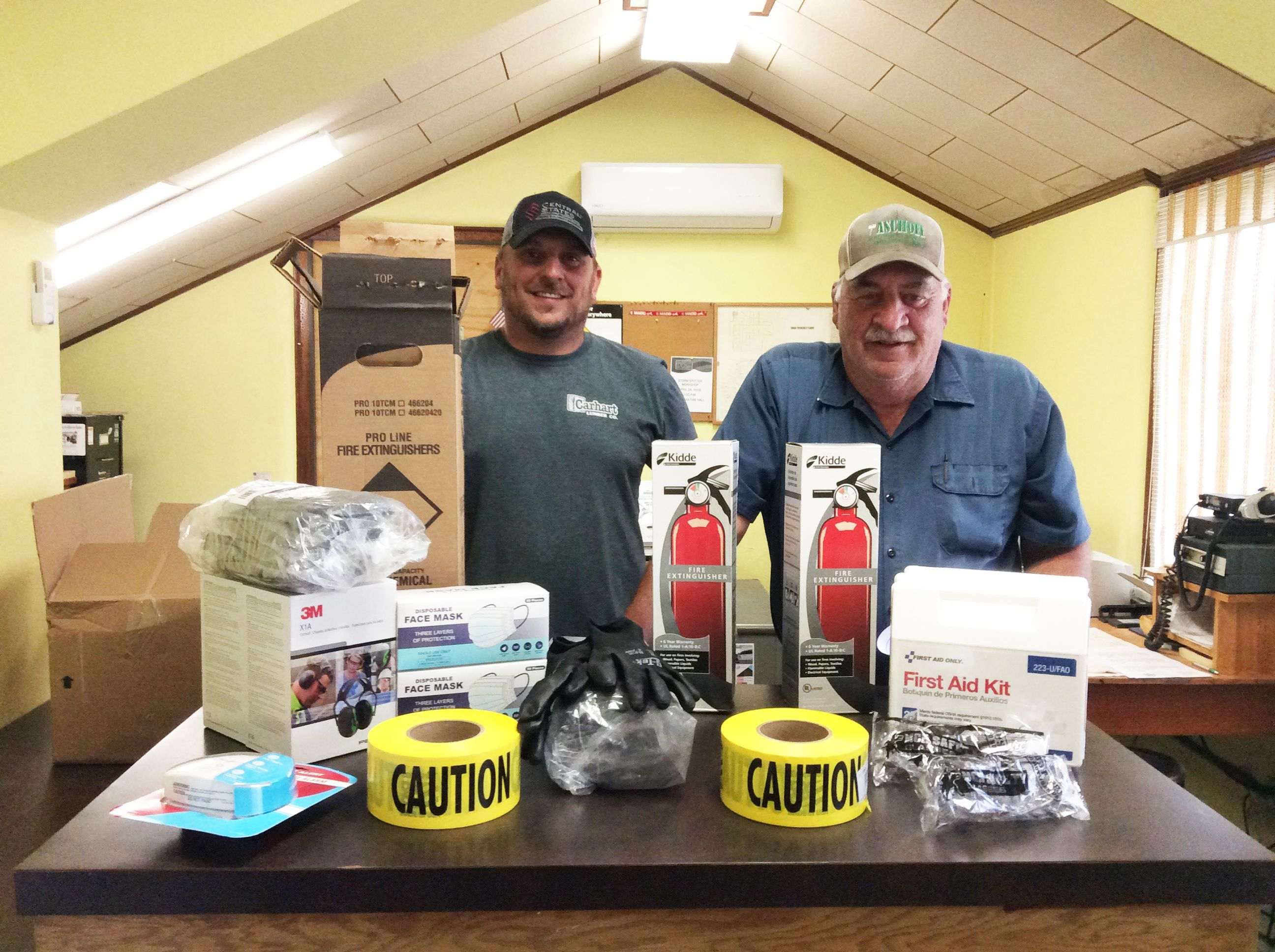 Village of Wausa awarded Lean on LARM Safety Grant