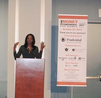 Keynote speaker Stacey Tisdale